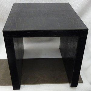 SIDE/ACCENT Nesting TABLE Snakeskin PRICED CHEAP